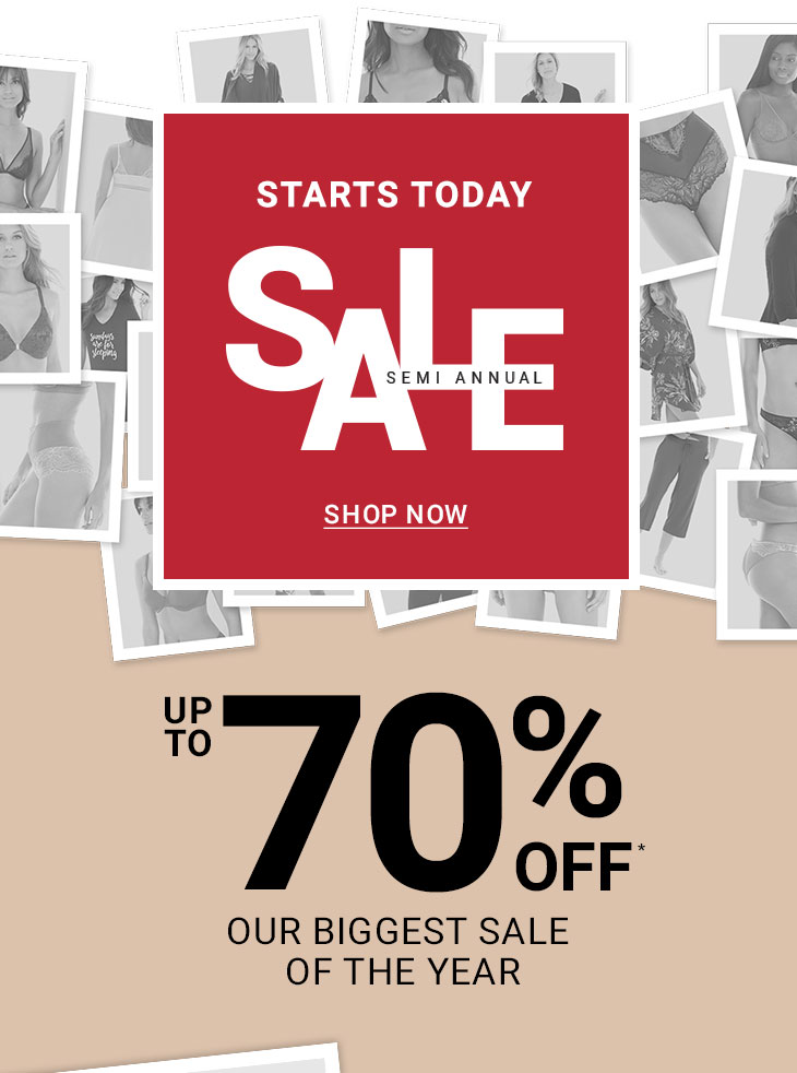 37c181d32650 Semi Annual Sale Up To 70% Off* Our Biggest Sale Of The Year.
