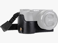 Leather & Neoprene Camera Cases for Sony, Fuji, GoPro & more