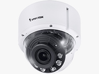 Network Dome Cameras with Night Vision