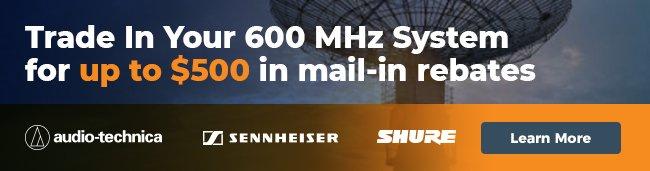 600 MHz System Banner