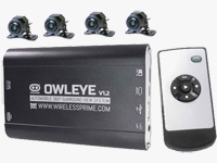 Owleye VR 360 DVR for Commercial Vehicle V1.2 Central Control Unit