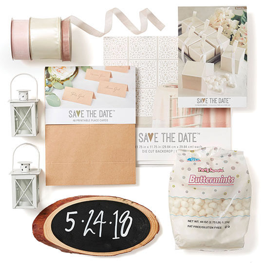 Save the Date Bridal.