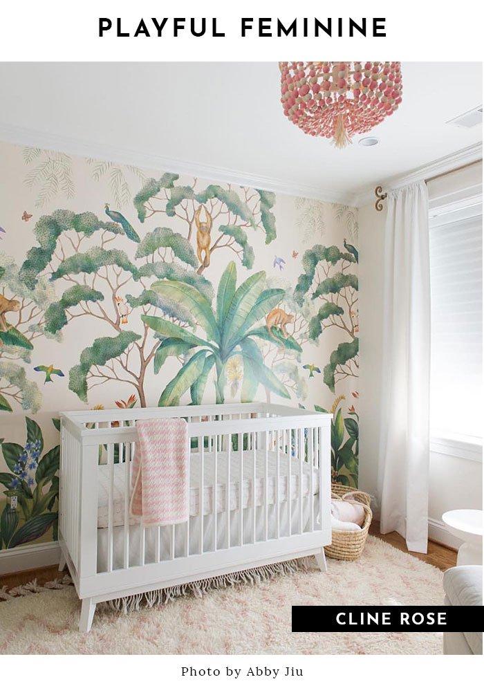 Shop Jungle Wallpaper