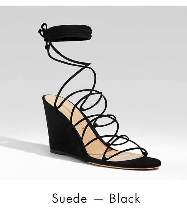 Suede - Black