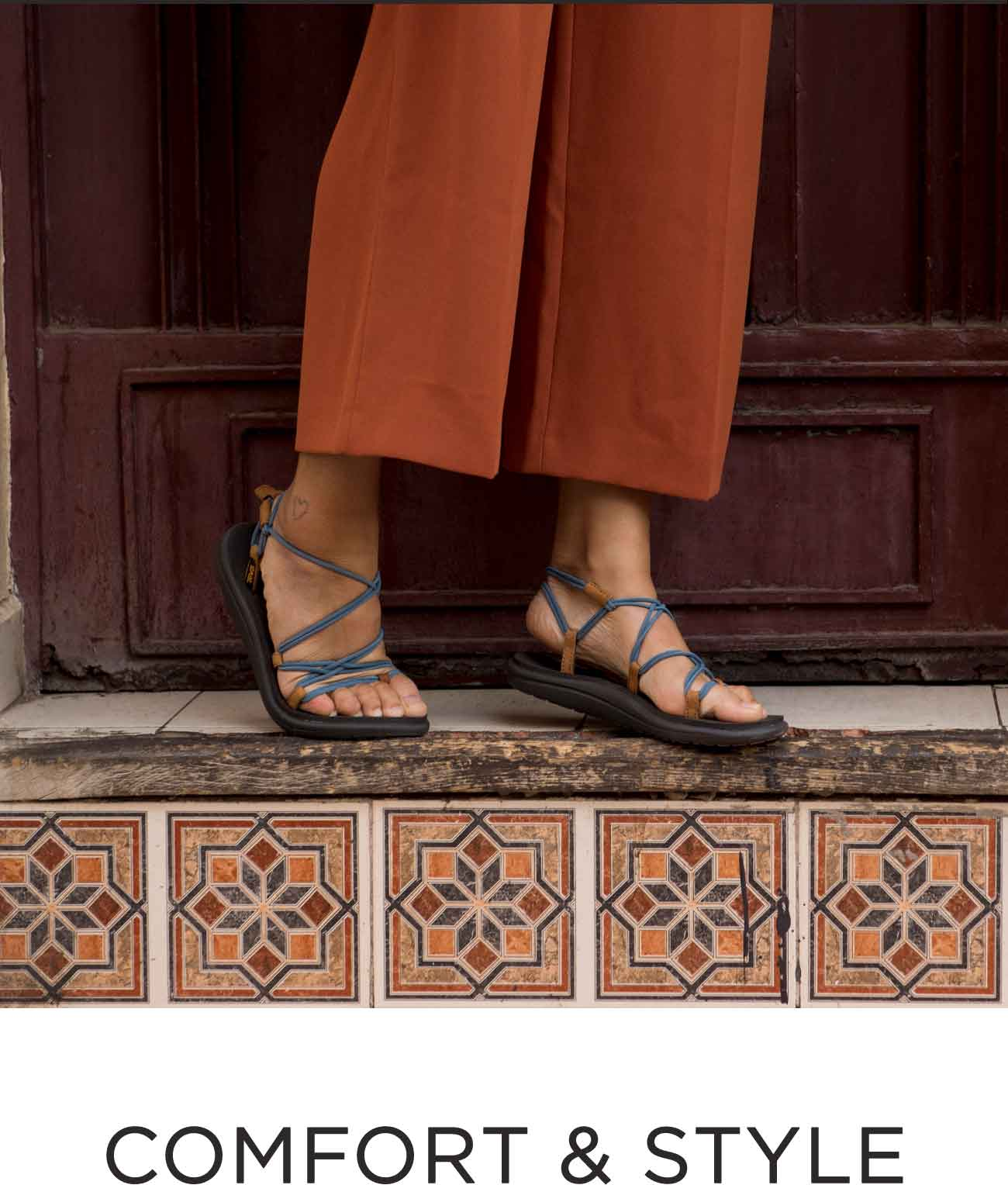 dc7289c88b94 The Voya Infinity combines the foot-forming comfort of our Mush footbed   a  feminine strappy upper