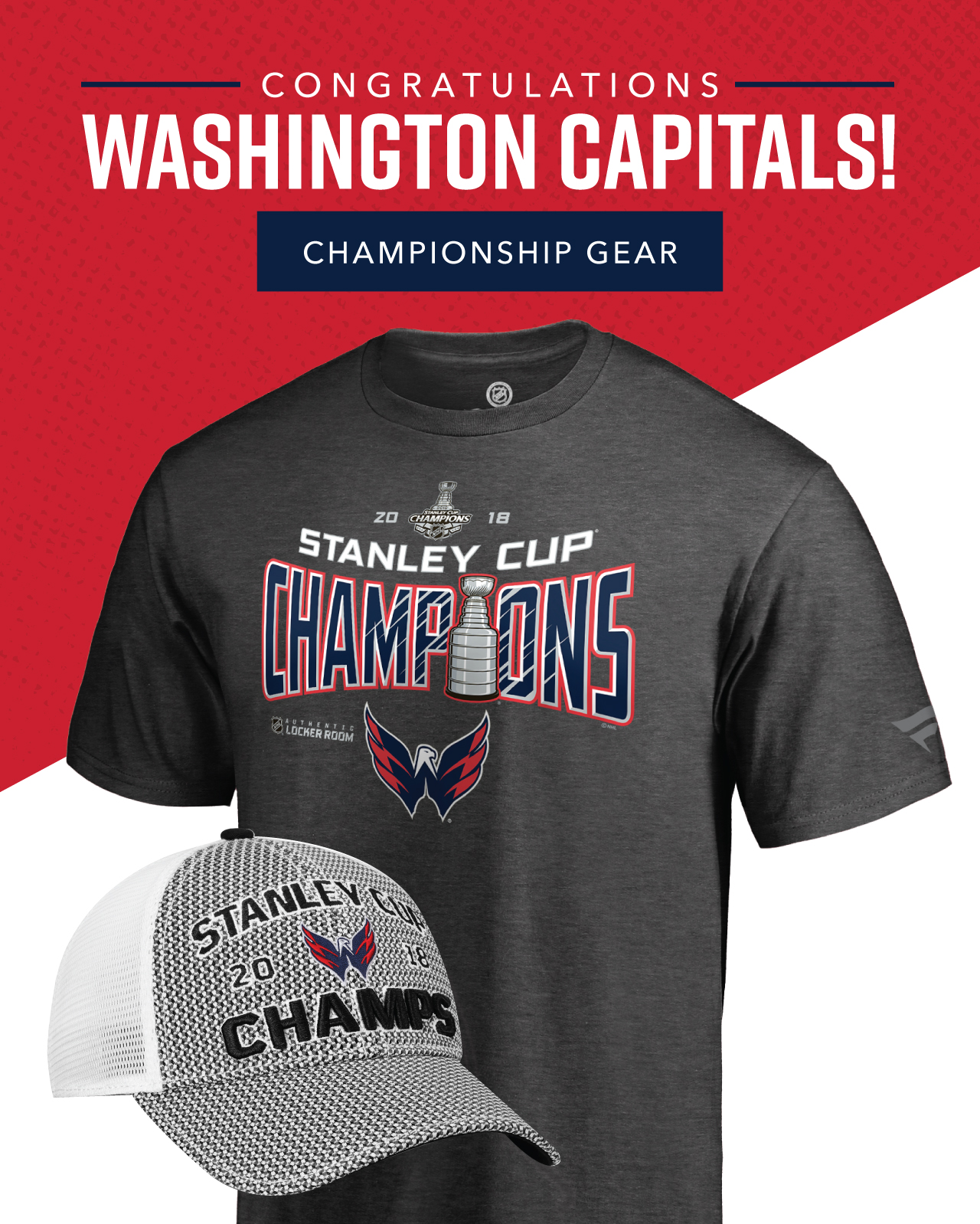 79513497fef Pure Hockey: Congratulations To The Washington Capitals! | Milled