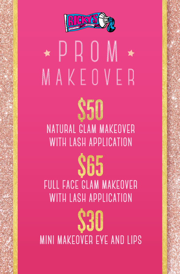 Ricky S Halloween Prom Makeovers All Month At Select Rickys Nyc