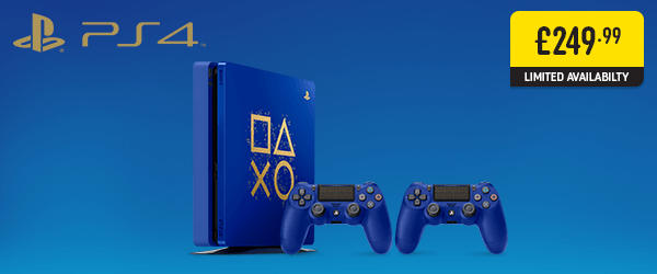 PlayStation 4 Days of Play Limited Edition Console!