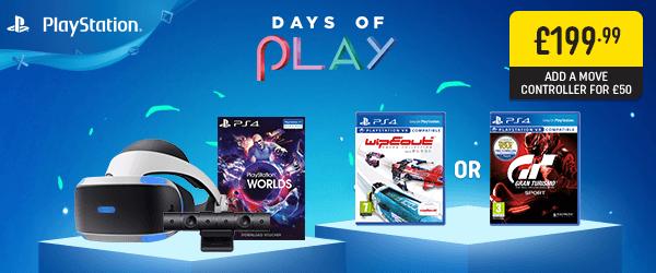 PlayStation VR Starter Bundle & Select Game