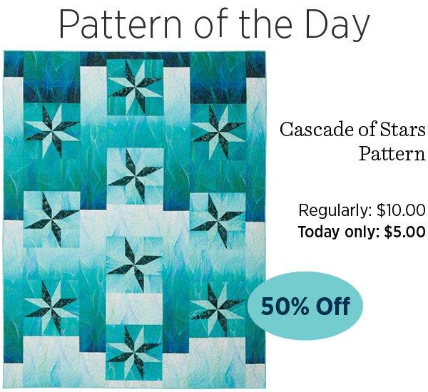 Cascade of Stars pattern
