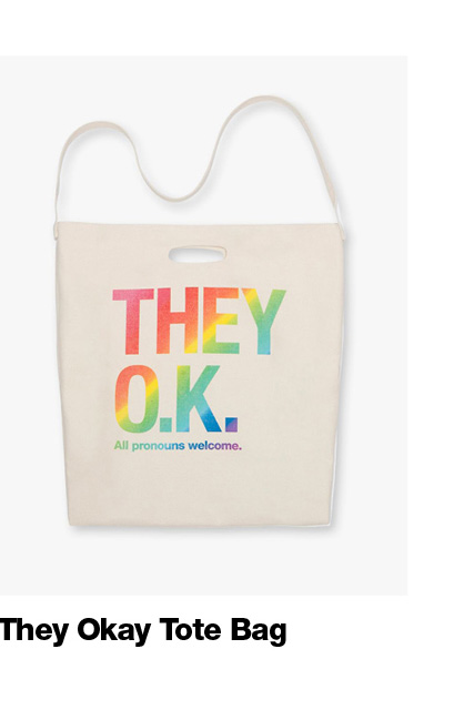 They Okay Tote Bag