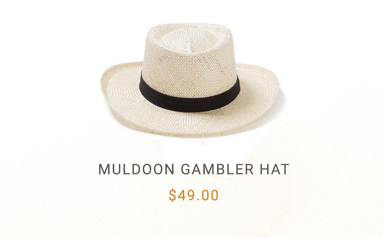 Muldoon Gambler Hat