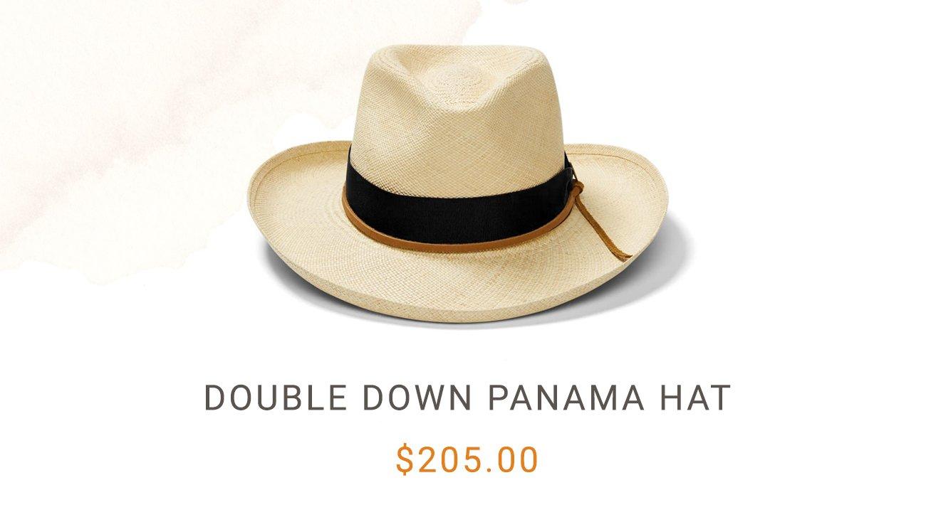 Dobule Down Panama Hat