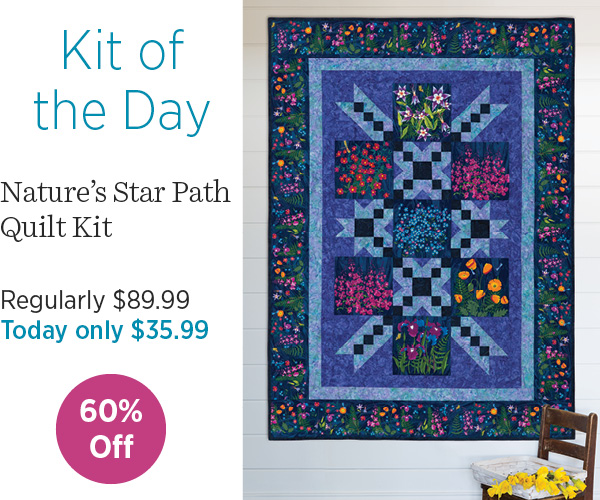 Nature's Path Quilt 60% off