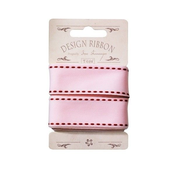 Image of Tilda Seams Pink Ribbon (25mm x 3m)
