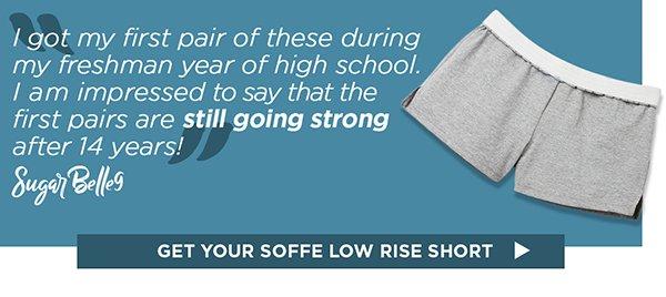 Shop Soffe Low Rise Shorts