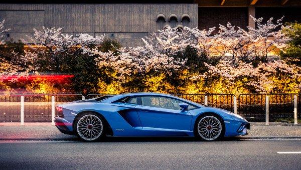Lamborghini Aventador S Road Trip In Japan Milled