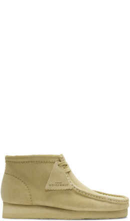 Clarks Originals - Tan Suede Wallabee Boots