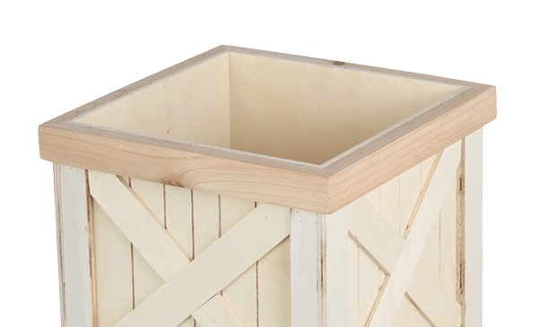 ENDS TOMORROW. Wooden Planters.