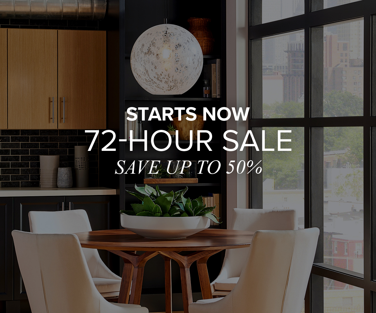Starts now 72 hour sale save up to 50