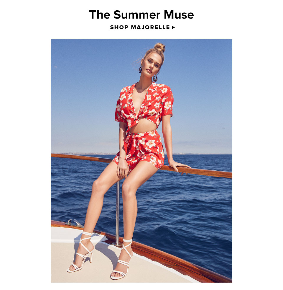The Summer Muse. Shop Majorelle.