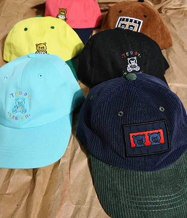 New Styles Featuring Teddy Fresh | SHOP HATS NOW