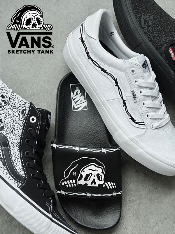 Shop The Featured Vans X Sketchy Tank Capsule While Styles Last | SHOP THE COLLECTION NOW