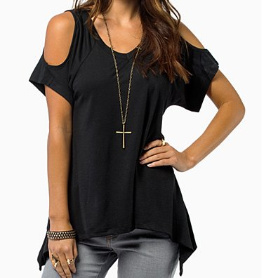 Cold Shoulder Tunic in 4 Colors