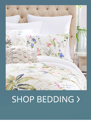 Shop for bedding.