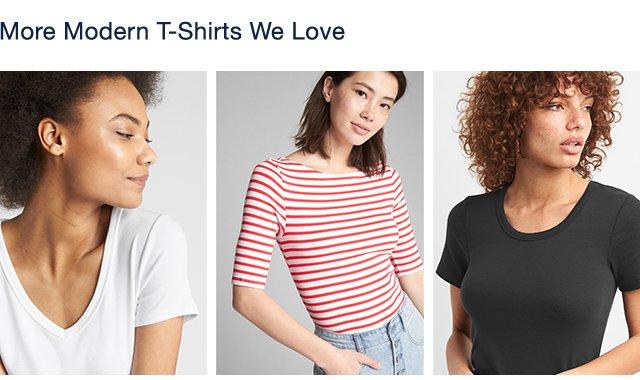 More Modern T-Shirts We Love