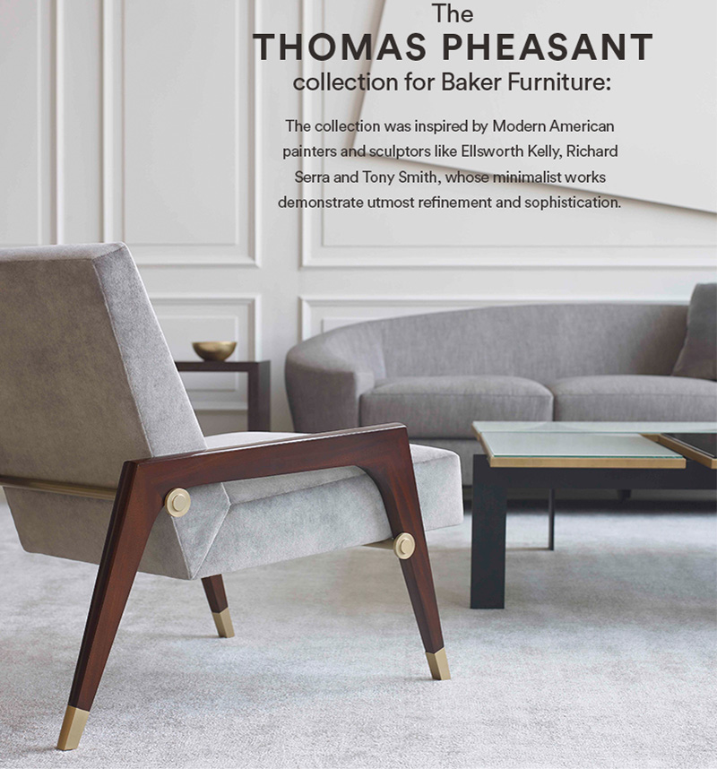 Beau The Thomas Pheasant Collection For Baker Furniture: This Collection Was  Inspired By Modern American Painters