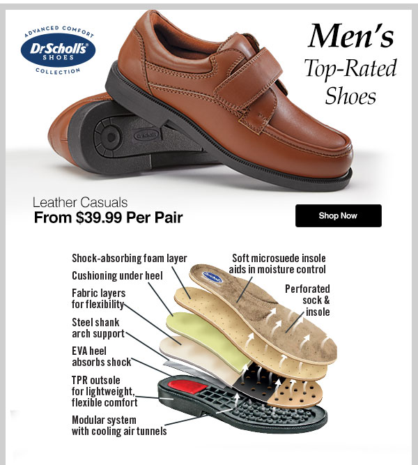 Men's Dr. Scholl's Leather Causals