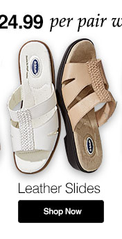 Shop Women's Dr. Scholl's Leather Slides