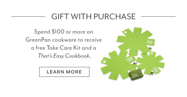 GreenPan Gift with Purchase