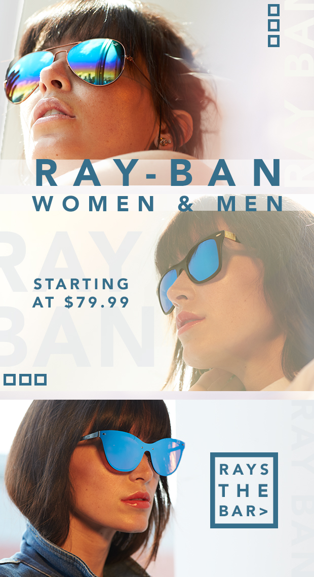 Ray-Ban from $79.99. Frame on.