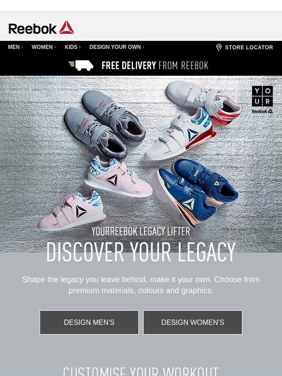 reebok legacy lifter custom off 55