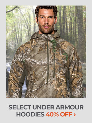 Select Under Armour Hoodies 40% Off