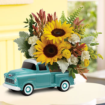 Telefloras Chevy Pickup Bouquet