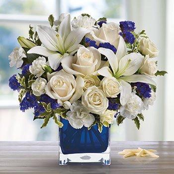 Telefloras Sapphire Skies Bouquet