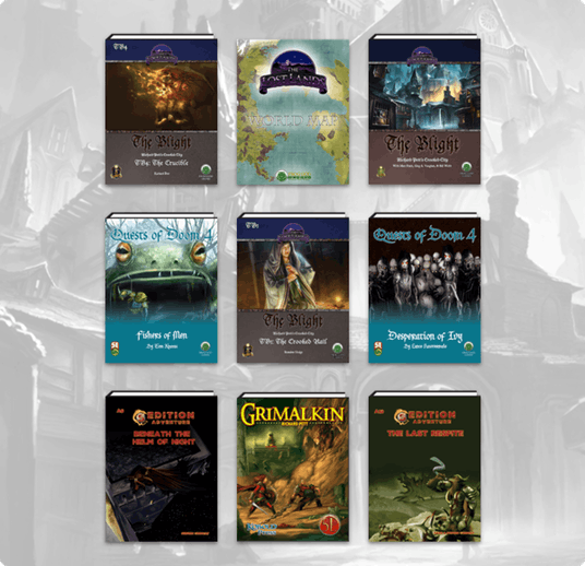 Humble Bundle: Another great tabletop RPG Bundle from Frog
