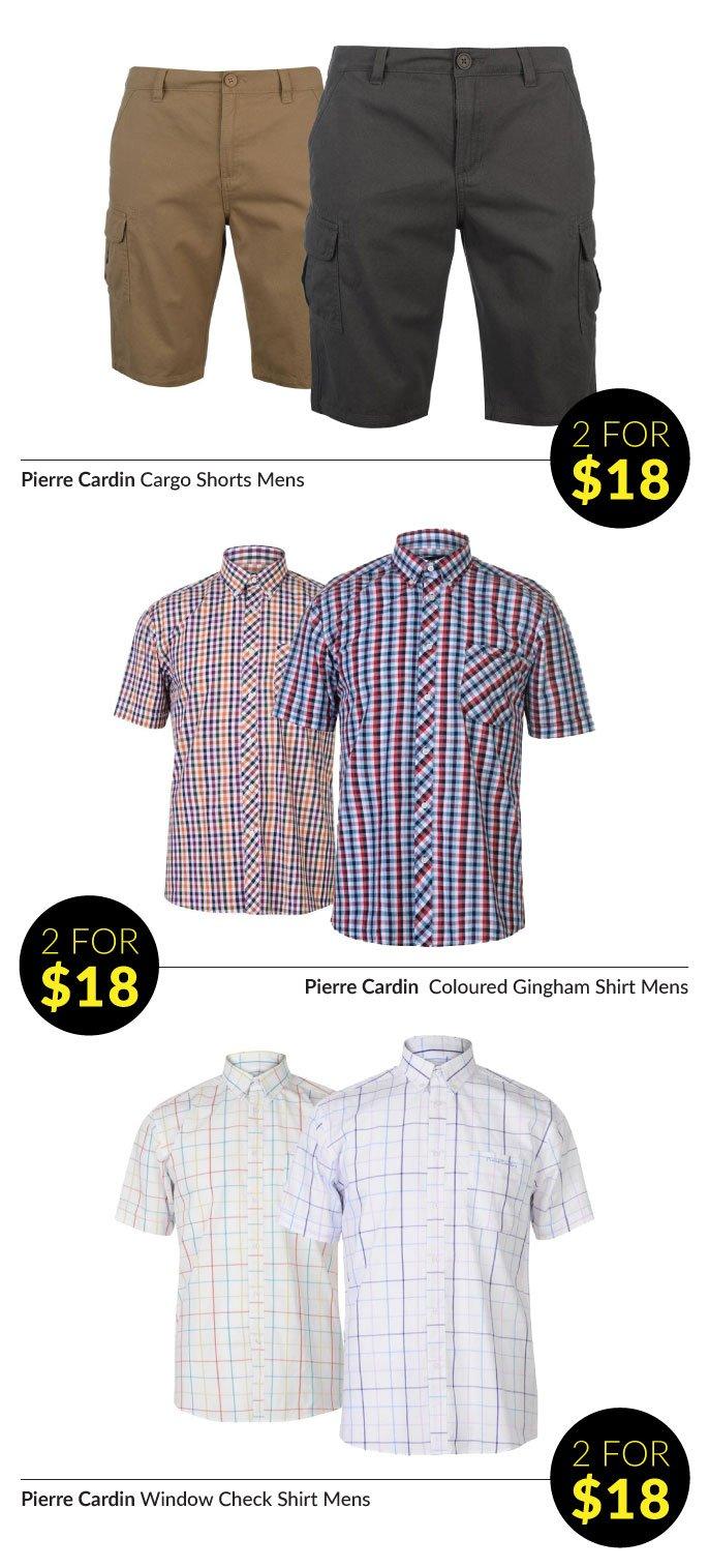 Pierre Cardin Striped Sports Poly Polo Shirt Mens Black