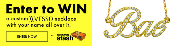 Enter To Win a Custom Necklace with your name By Visso - Exclusively from The Zumiez Stash | Enter To Win Now
