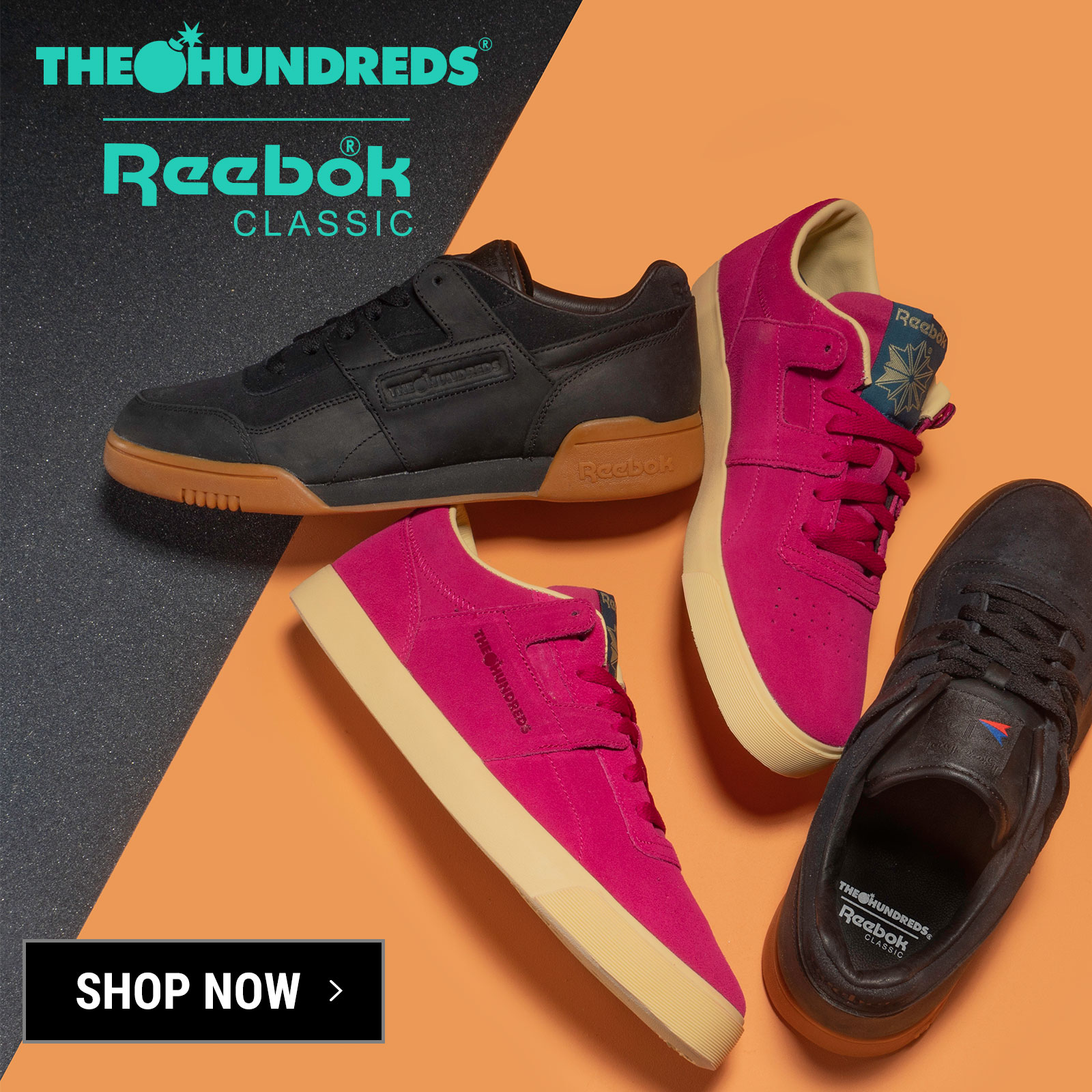 los angeles d84d8 c7912 The Hundreds: THE HUNDREDS X REEBOK CLASSIC :: AVAILABLE NOW | Milled