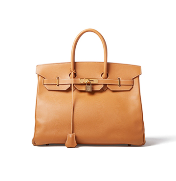 What Goes Around Comes Around Herms Birkin Ardennes 35cm Bag $16,500