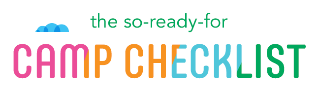 the so-ready-for camp checklist