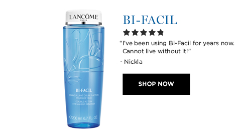 BI-FACIL  'Ive been using Bi-Facil for years now. Cannot live without it!' - Nickla  SHOP NOW