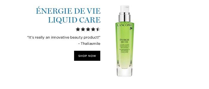 NERGIE DE VIE LIQUID CARE  'Its really an innovative beauty product!' - Thaliasmile  SHOP NOW