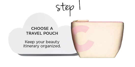 CHOOSE A TRAVEL POUCH