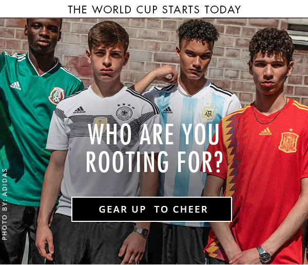 ef3128348 Paragon Sports  THE WORLD CUP STARTS TODAY! ⚽🏆All the Gear to Cheer!