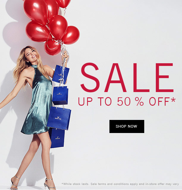 Sale up to 50 % off*